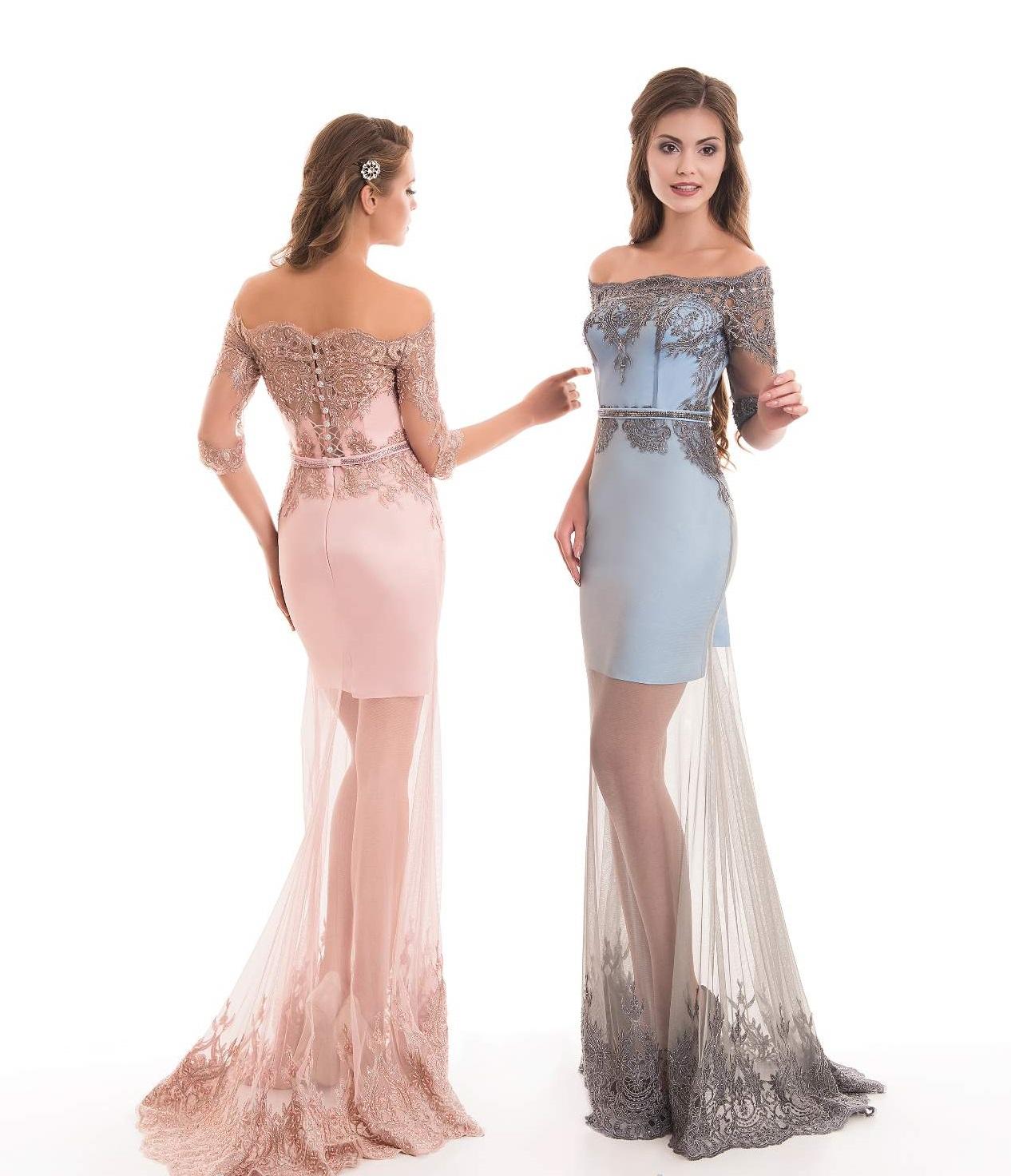 Красивые вечерние платья на свадьбу 2017